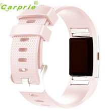 HL2016 New Fashion Sports Silicone Bracelet Strap Band For Fitbit Charge 2 OC12(China (Mainland))