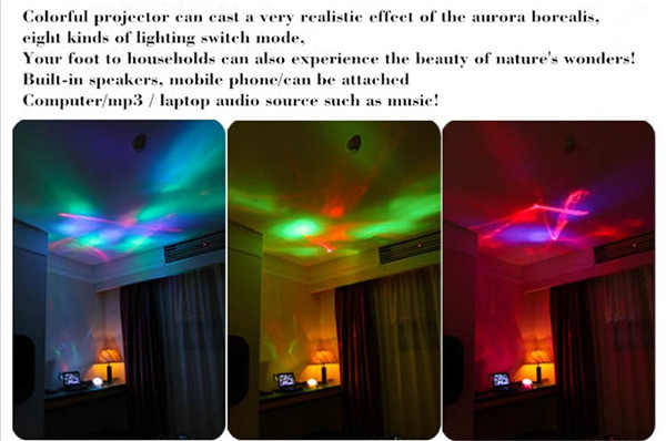 Realistic Aurora Star Borealis Projector  (5)