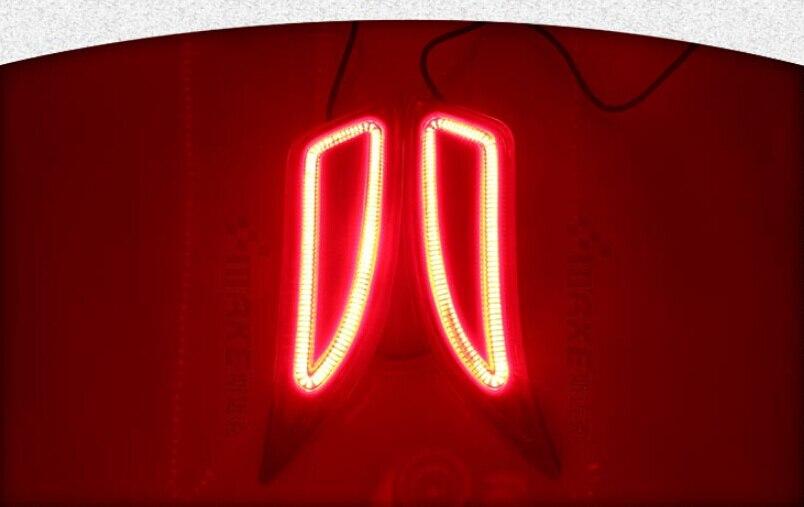 Osmrk светодиодные задние, стоп-сигнал, задний указатель поворота, отражатель заднего бампера фонарь для Тойота Камри 2015-16