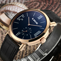 LIGE Mens Watches Top Brand Luxury Simple Men's Fashion Casual Automatic Mechanical Leather Waterproof watch Clock man Relojes