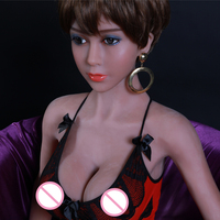 Real pictures 158cm Silicone Sex Dolls For Men Realistic Big Breast mini Vagina TPE Love doll Male Masturbator Adult sex toys