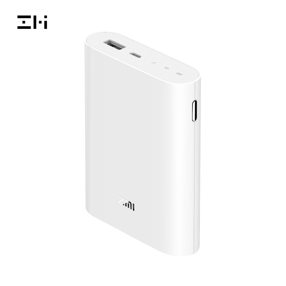 ZMI MF855 4G Wifi Router 7800 mAh Power Bank Wireless wifi repeater 3G4G router Mobile Hotspot 7800mAh Powerbank MF855
