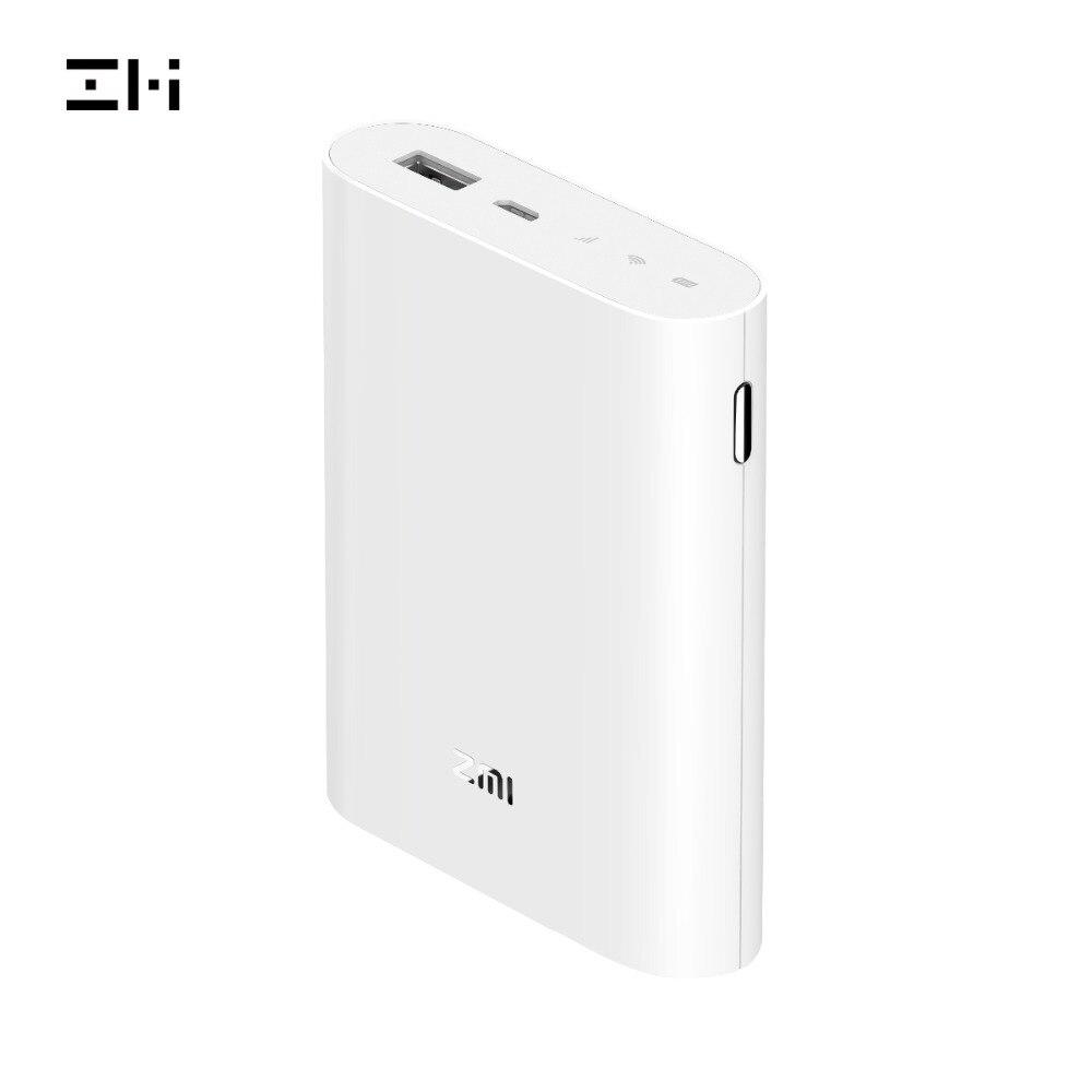 ZMI MF855 4G Wifi routeur 7800 mAh batterie externe sans fil wifi répéteur 3G4G routeur Hotspot Mobile 7800 mAh Powerbank MF855