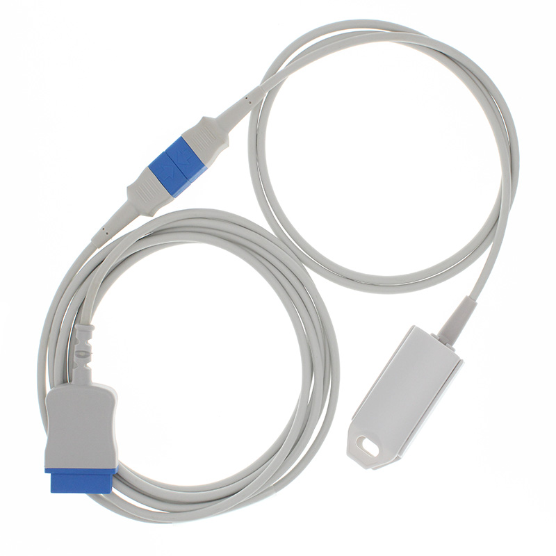 Compatible with GE Ohmeda module OXY-ES3 SpO2 adapter cable adult/baby/animal blood oxygen <font><b>sensor</b></font>.ECG <font><b>EKG</b></font> EEG CABLE/ ELECTRODE image