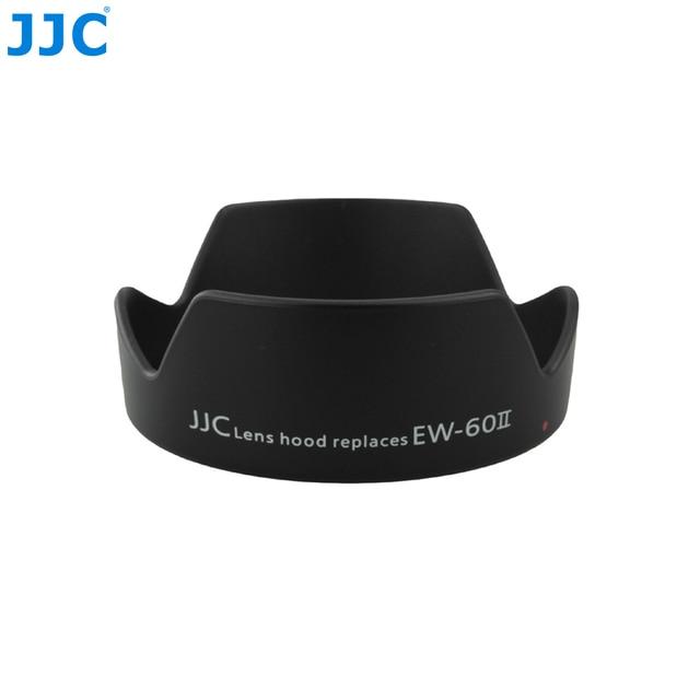Jjc 花の形バヨネットカメラレンズフードキヤノン ef 24 ミリメートル f/2.8 レンズキヤノン EW 60II 可逆置き換えレンズプロテクター