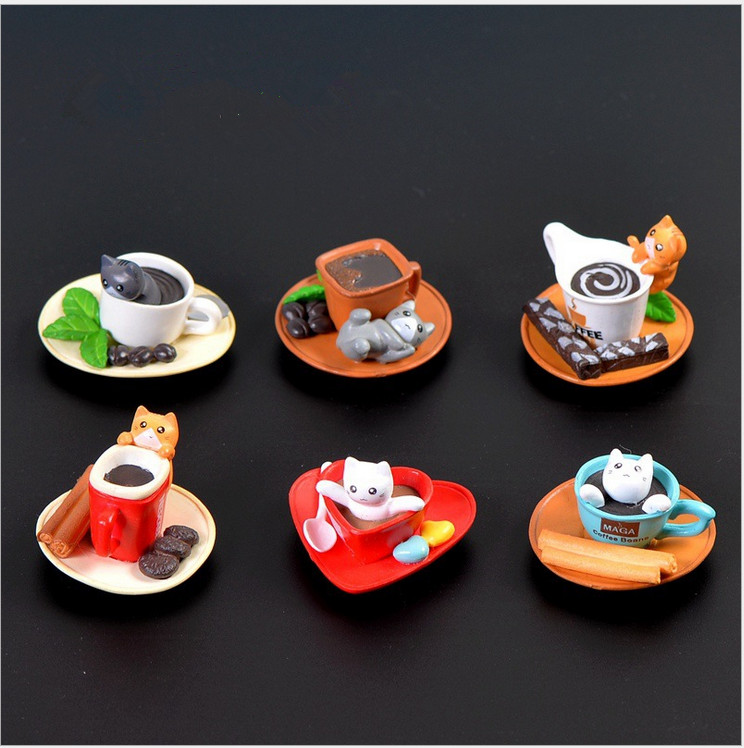 Wholesale Cute Funny Cartoon Chi's Sweet Mini Dessert Cat Candy Toys Model Figure Decoration Match New