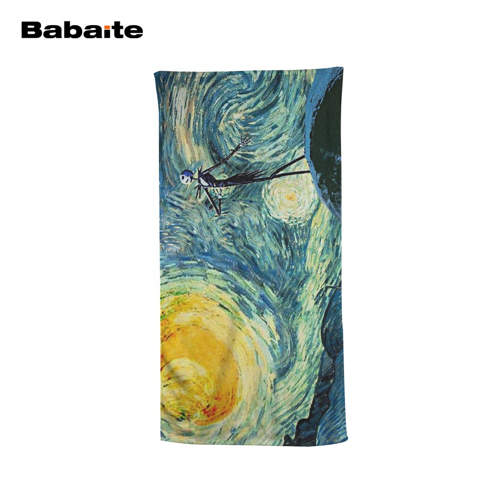 Babaite Custom Starry Night The Nightmare Before Christmas Jack Soft ...