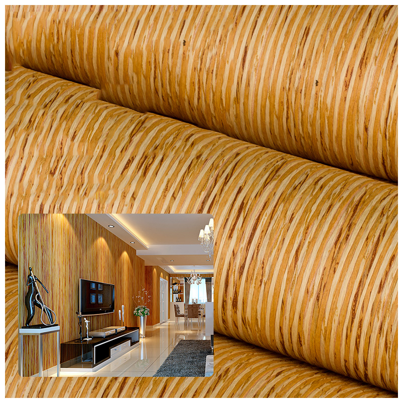 Straw Plant Paper Wallpaper Rolls for Ceilings Bedroom TV Background 3d Stripe Wall paper WallcoveringsStraw Plant Paper Wallpaper Rolls for Ceilings Bedroom TV Background 3d Stripe Wall paper Wallcoverings