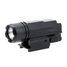 LED Glock Gun Light 600 Lumen Tactical Torch Flashlight for Pistol Airsoft