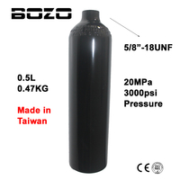 Paintball Airsoft PCP Air Tank Mountaineering Diving Cylinder 3000psi 20MPA 0 5L HPA High Compressed Air