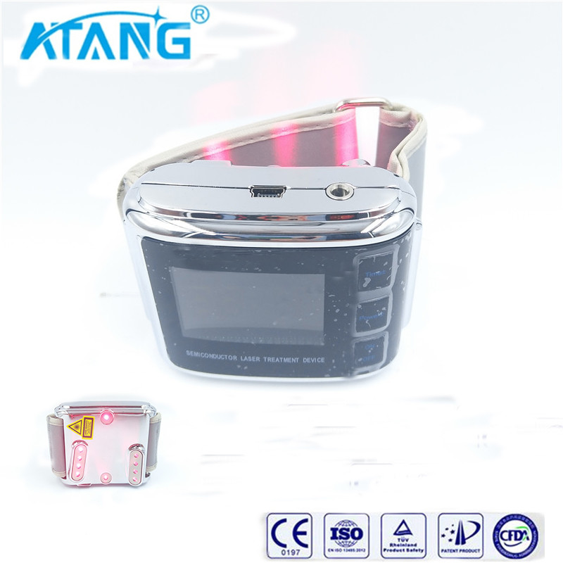 ATANG Laser Watch Acupuncture Therapy Cure Diabetes hypertension High Blood Sugar Hyperlipidemia Physical Cardiovascular Disease biomarkers in cardiovascular disease