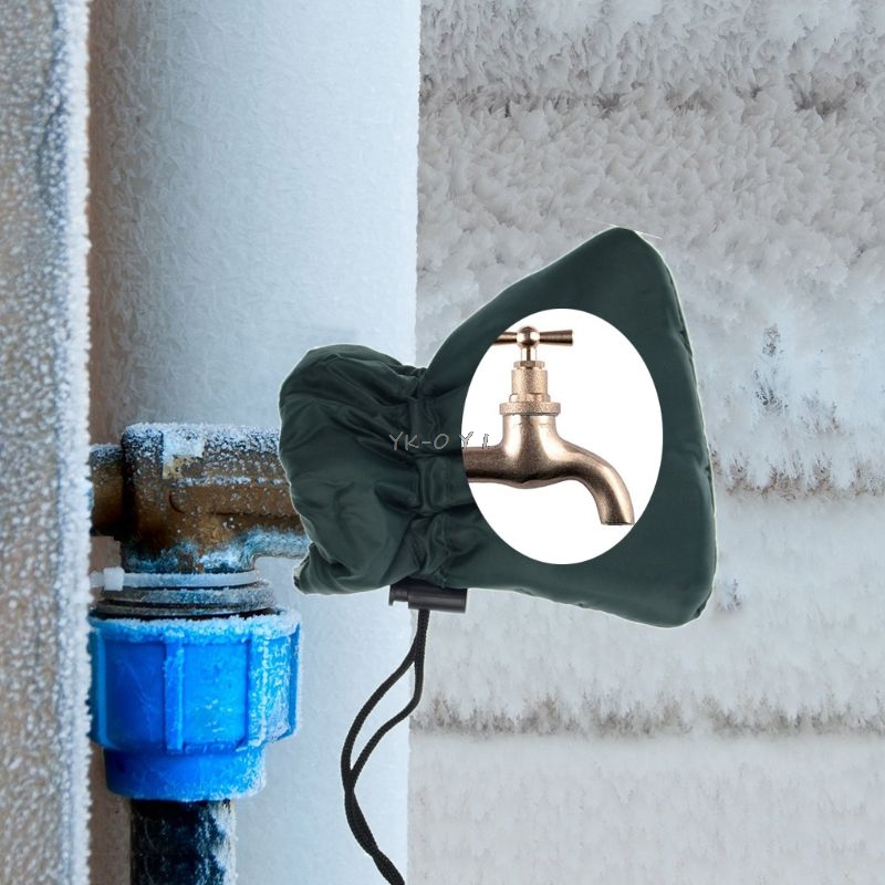 Outside Garden Tap Cover Insulated Frost Jacket Thermal Winter Protector