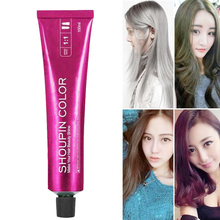Professional Permanent Super Hair Dye Wax Color Cream Non-toxic DIY Styling Coloring Molding Paste Red Blue Gray 100ml