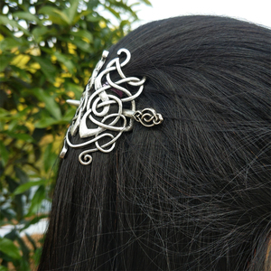 Image 3 - 10 PCS נורדי ויקינג סלטיקס Knotwork מכבנת שיער תכשיטי לנשים Cetilcs שיער תכשיטים