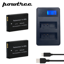 2X 3.7V 900mAh NB-8L Li-ion Battery+2Port Battery charger with LED For Canon Powershot A3100 A3200 A3300 PM059 A2200 A3000 L20 puluz eu plug battery charger with cable for canon nb 4l nb 8l battery