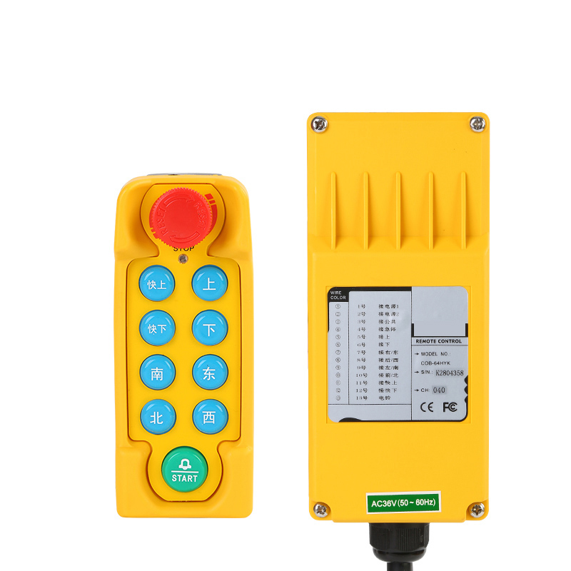 Hoist Switch Industrial Remote control with EmergencyHoist Switch Industrial Remote control with Emergency