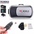 2016 hot selling VR Headset Virtual Reality VR WORLD Goggles 3D Glasses Google Cardboard Remote  Virtual glasses COOL