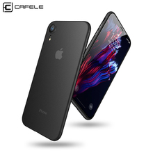 CAFELE PP Phone Case for iPhone Xr 6.1 inch Ultra Thin Super Business Slim Color Back Fitted Luxury iPhoneXr Full Cover