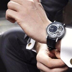 Image 3 - Часы Reef Tiger, автоматические, стальные, повседневные, для мужчин, 2020