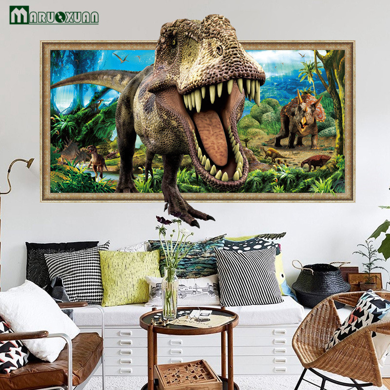 https://ae01.alicdn.com/kf/HTB1a8jPcC3PL1JjSZPcq6AQgpXap/Maruoxuan-Nieuwe-3D-Dier-Dinosaurus-Frame-Stickers-Slaapkamer-Woonkamer-Decoratieve-Behang-PVC-Waterdicht-Muurstickers.jpg