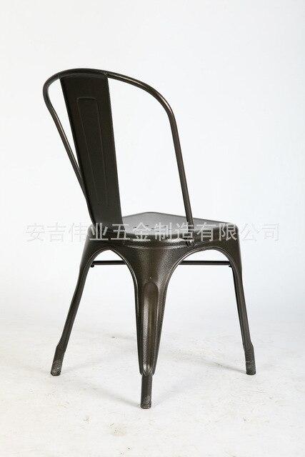 Marais Marais Armrest Armchair Cafe Chair Loft Continental Navy Retro Stainless Steel Chair
