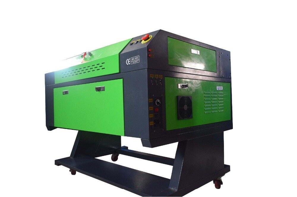 80 W CO2 USB Laser gravure Machine 700x500mm graveur Cutter bois travail artisanat imprimante