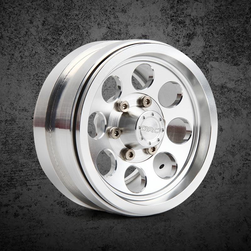 4pcs 1.9inch High quality metal wheels Hub for 1/10 RC Crawler Car Traxxas TRX4 Ford Bronco D90 D110 Axial Scx10 90046 RC4WD hpi king 1973 ford bronco