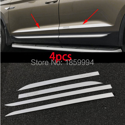 for 2017 2018 2019 skoda kodiaq  special refit car door body  side protector Decoration rear trim anti-rub tirm