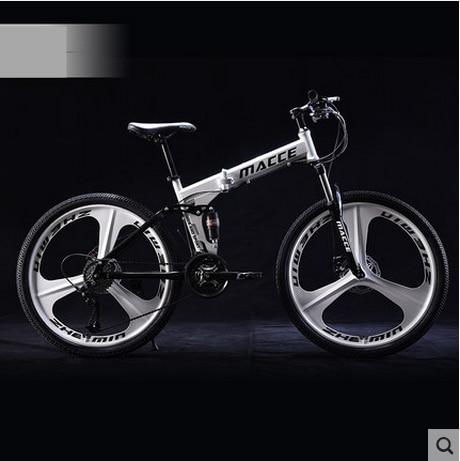 Markë e re 24/26 inç çeliku karboni rrota 21/24/27 biçikletë - Çiklizmit - Foto 3