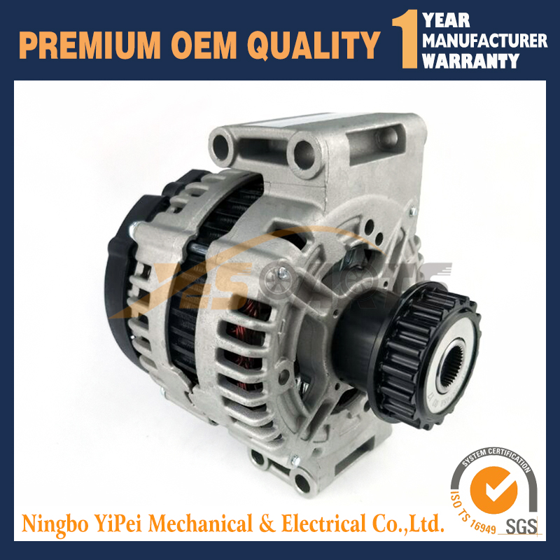 12V 180A New Alternator For VOLVO S60 S80 V60 V70 XC60 XC70 XC90 With Clutch Pulley