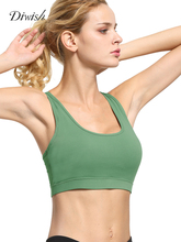 Diwish Sexy Hollow Sports Bra Top Breathable Push Up Fitness Running Yoga 2019 Underwear Quick Dry Sport Tops Gym Sportswear