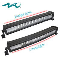 NAO led work light 12v led bar offroad 22inch led beam 120W for auto Tractor Boat Off Road Curved Straight Combo light bar SUV