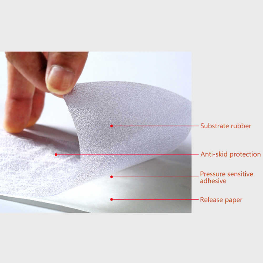 497fa1524e61 High Quality Sole Tape Sticker 50 10cm Transparent Self Adhesive Anti Slip  for High Heels Outsoles Protector Shoes Accessories