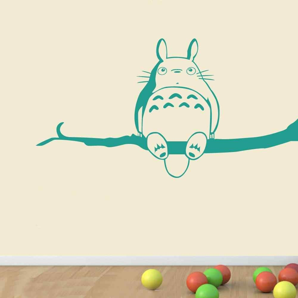 My Neighbor Totoro Vinyl Wall Sticker Inspired Totoro Wall Decal For  Children Bedroom Playroom # M261 In Wall Stickers From Home U0026 Garden On  Aliexpress.com ...