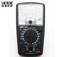 Виктор VC7244 натуральная стрелками, аналоговый Универсальный мультиметр Высокая точность мульти мультиметр механический/измеритель напряжения переменного тока