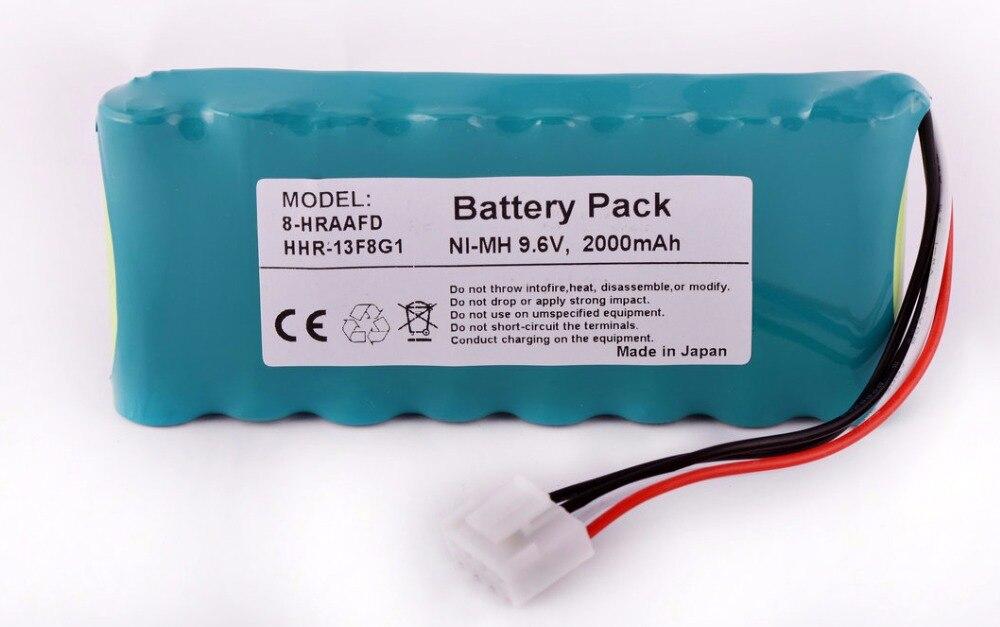 2000mAH New monitor ECG Battery for Fukuda FX-7500 FCP-7541 FX-7542 ECP-7631 ECP-7641