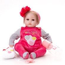 Boneca Reborn Bebe Princesa Bonecas Reborn Bebê Nascido Roupas aprendizagem Brinquedos Infantis SB4506 Adora Boneca Reborn Para O Brinquedo do Miúdo bonecas