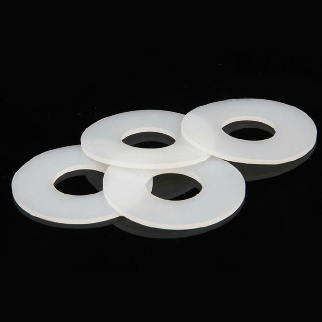 Rubber gasket OD=19 ID=11 T=3 silicone rubber Flat 1/2 inch DN15 ...