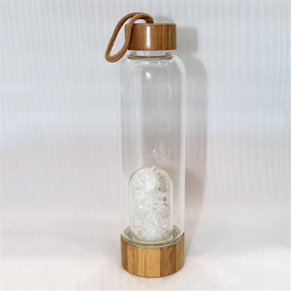 natural cascalho quartzo pedra preciosa cura vidro