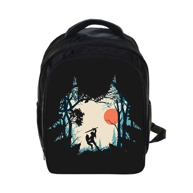 US $15 99 20% OFF|The Legend of Zelda Kindergarten Bags Backpack Kids Boys  Girls Forest Link Printing Primary School Bag Children Daily Backpack-in