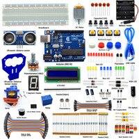 Adeept Arduino Starter Kit For Arduino UNO R3 Ultrasonic Distance Sensor Servo With Guidebook LCD1602 Breadboad