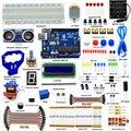 Adeept Eléctrica DIY Starter kit para Arduino uno R3 de Arduino Sensor de Distancia Ultrasónico con Guía Freeshipping Libro diykit