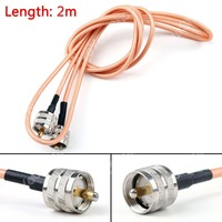 Sale 200cm RG142 Cable PL259 UHF Male To UHF Male For Car Radio Antenna Pigtail 6ft