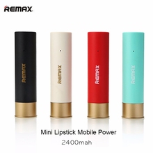 Remax 2400mAh Mini Bullet Design Power Bank Backup Extra PowerBank Universal External Battery Pack Emergency Backup Power RPL-18