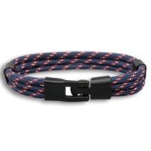 2017 новые модные черные браслеты с пряжкой мужские 550 цепь