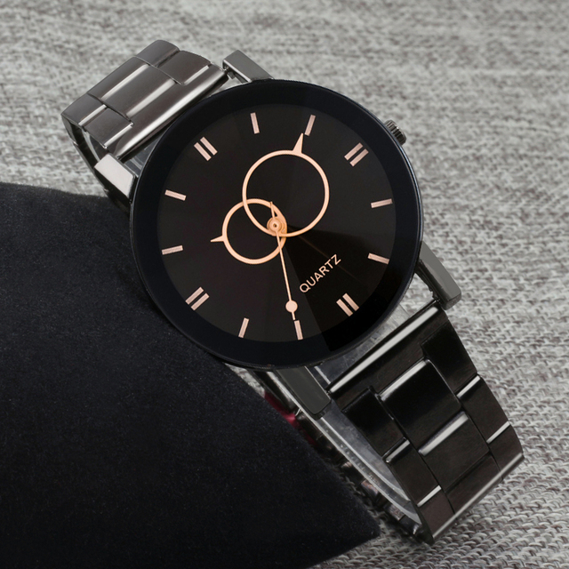 Classic Simple Lovers Couple Watch Fashion Romantic Casual Quartz Women Watches