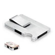 c02b2a98a81 EDC Metalen Geld Clip ultradunne Outdoor Draagbare multifunctionele Hoge  Capaciteit Kaart Clip Pocket Unisex's Map portemonnee