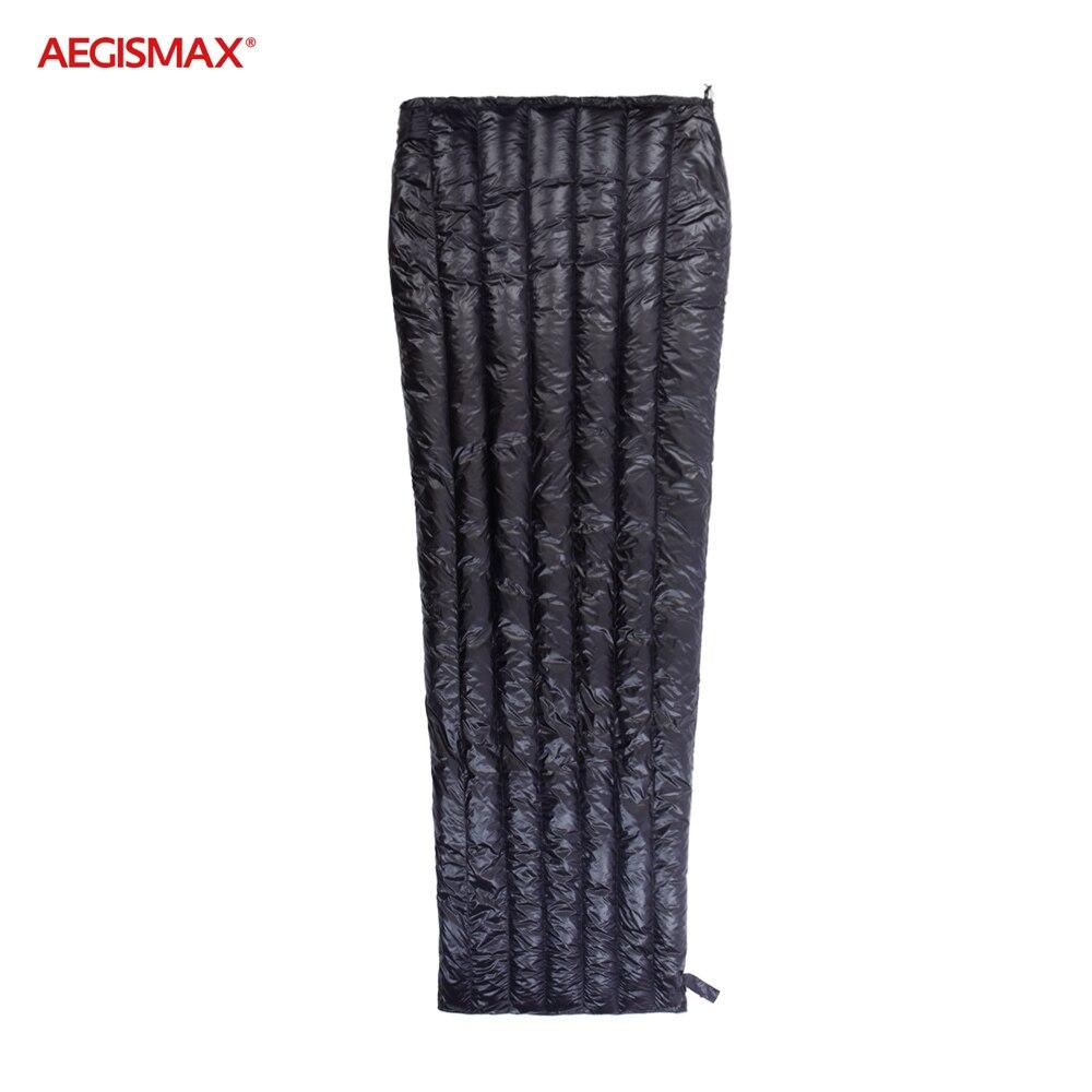 AEGISMAX Outdoor Ultra Light Goose Down Compact Envelope Sleeping Bag