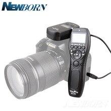 Youpro MC 292 dc0/dc2/n3/s2/e3/e2 2.4g 무선 원격 제어 lcd 타이머 셔터 릴리즈 채널 canon/sony/nikon/fujifilm