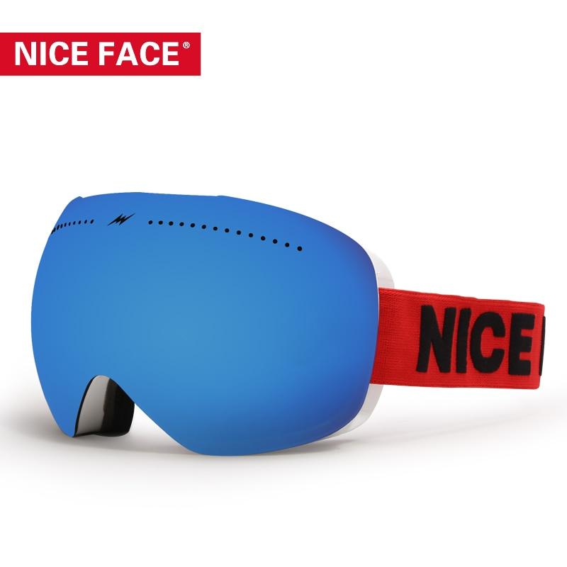 все цены на Ski Goggles Double Layers UV400 Anti-fog Big Ski Mask Glasses Skiing Men Women Snow Snowboard Goggles Winter Skiing Eyewear